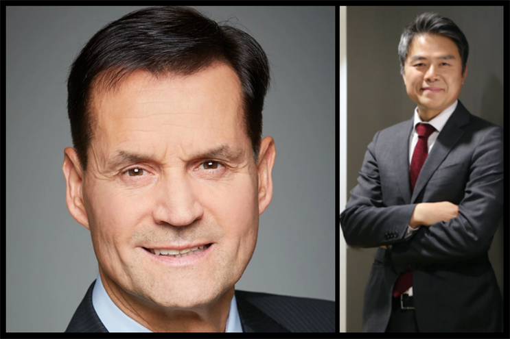 Hyundai: Thomas Schemera (left) and Wonhong Cho