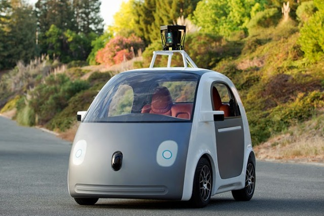 Google's driverless car: Jaguar Land Rover and Ford are also experimenting with trials