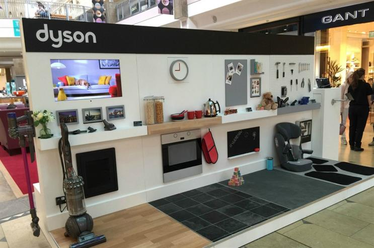 Dyson showcases its tech with an experiential roadshow