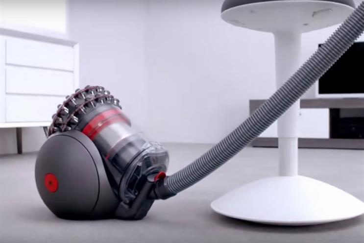 Dyson: topping the list of 'super entrepreneurial' brands