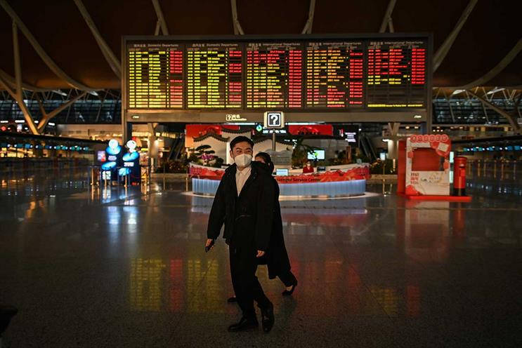 China: adspend growth revised (Getty Images)