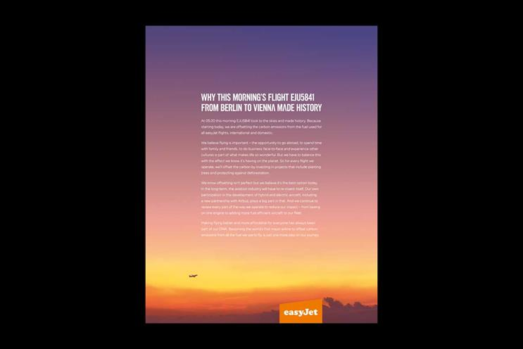 Sorry easyJet, tackling the climate crisis ain't that easy