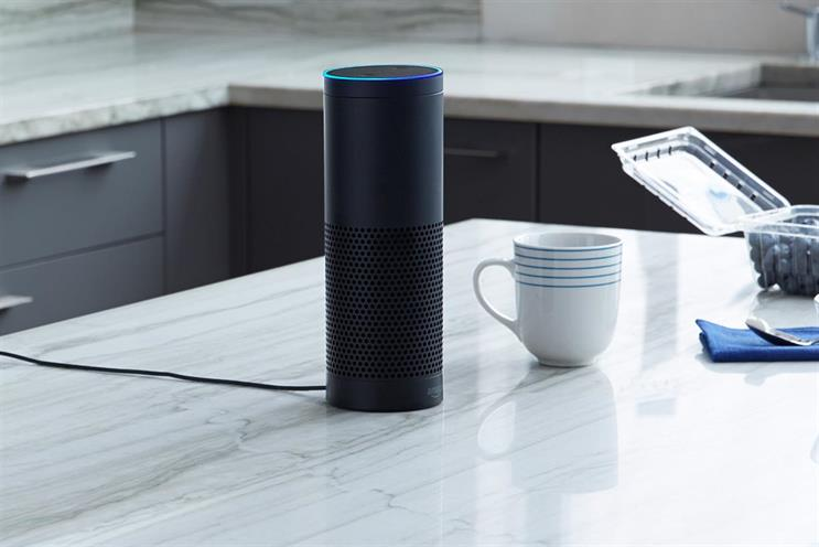 Amazon Echo: launched in the UK last month