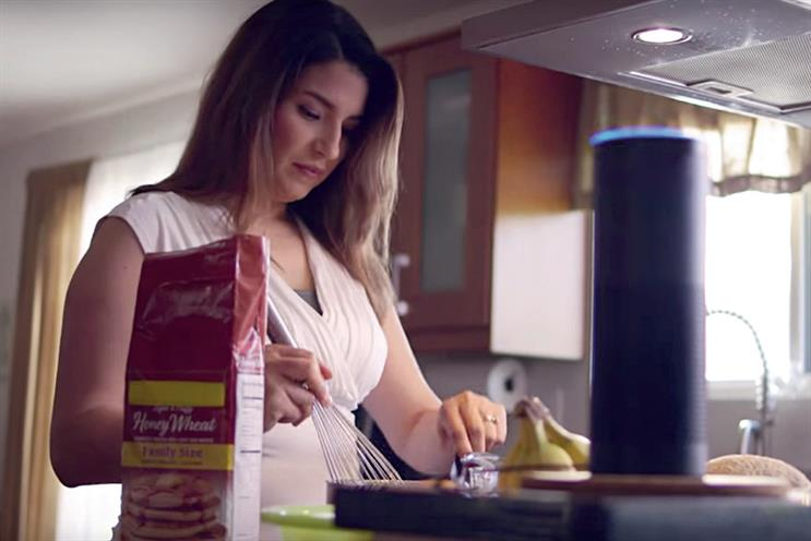 Amazon Echo: ambient interaction is useful for tasks such as making diary appointments