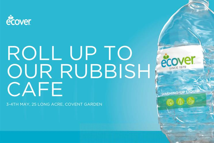Ecover launches café that only accepts recyclable plastic as payment