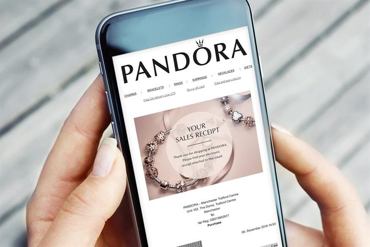 Ecrebo works with major UK retailers, including Pandora