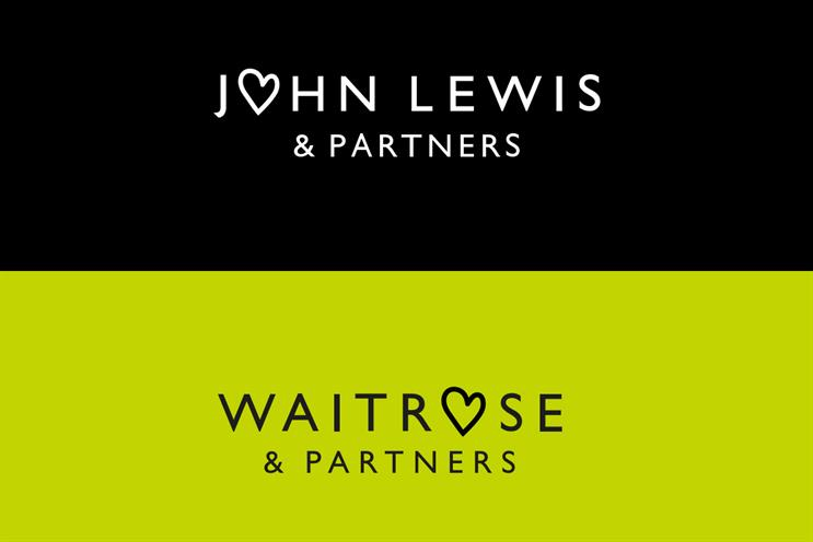 John Lewis Partnership: brands changed logos to include hearts