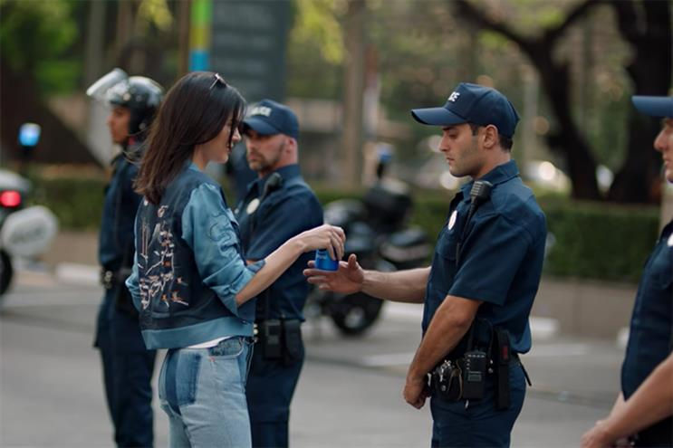 Pepsi: ad starring Jenner was eventually pulled