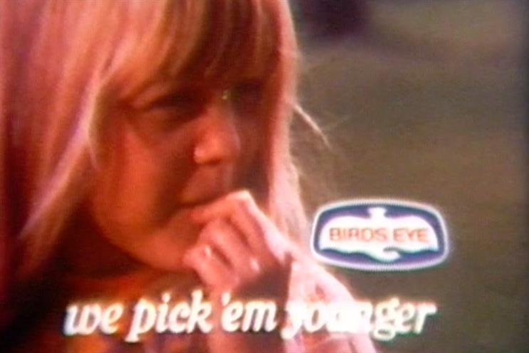 Birds Eye: first colour TV ad had somewhat poor choice of words