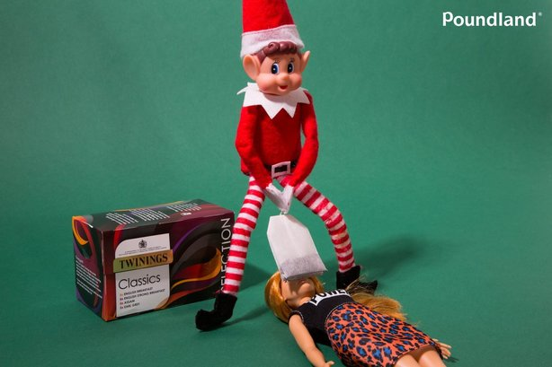 Bad taste or hilarious? Social media debates risqué Poundland Christmas campaign