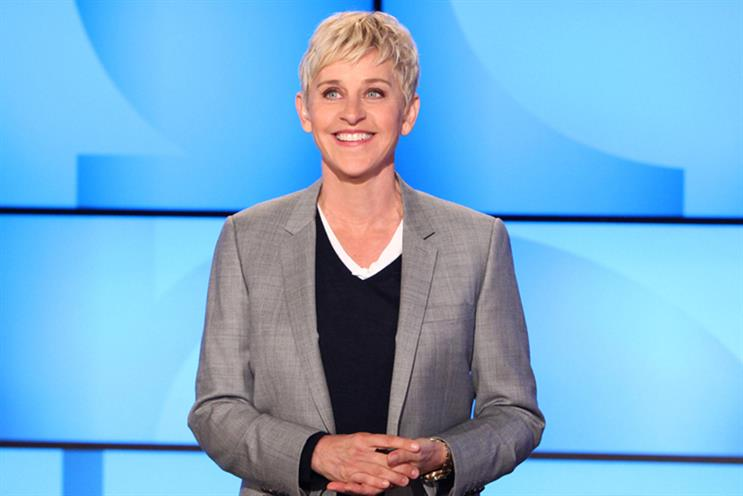 The Ellen Degeneres Show is part of Time Warner's line-up
