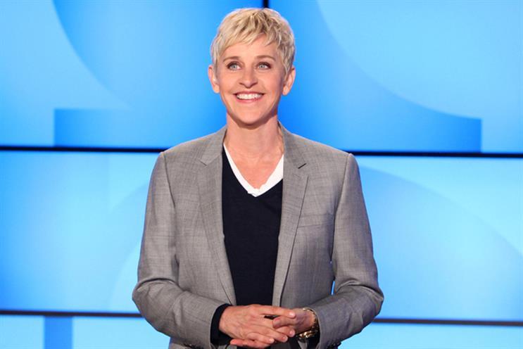 The Ellen Degeneres Show is part of Time Warner's line-up