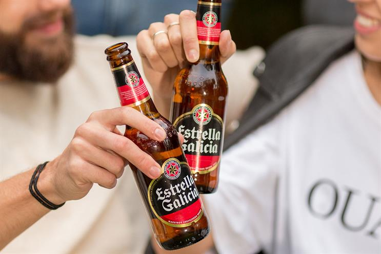 Estrella Galicia: food will be paired with beer
