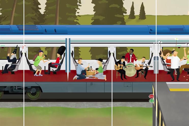 Eurostar: reviewing media duties