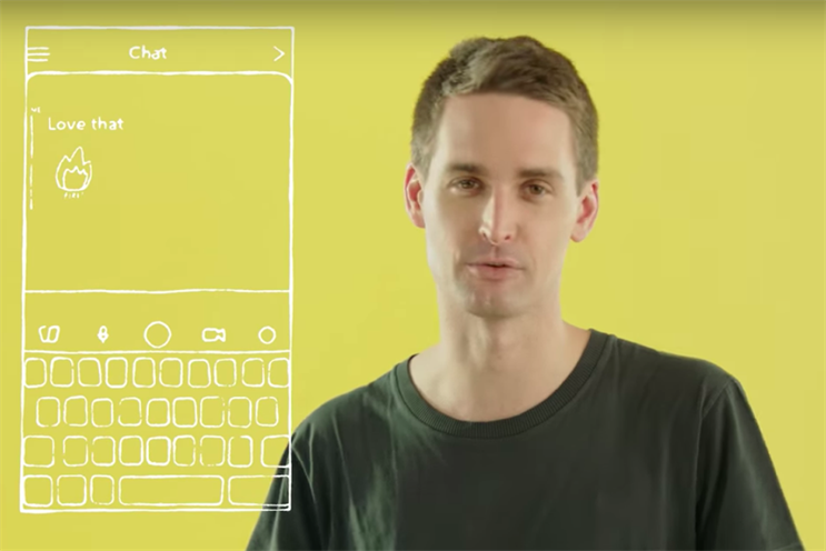 Evan Spiegel explains Snapchat's redesign