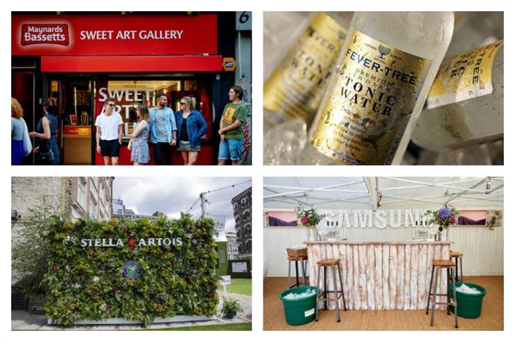 Eventographic: Maynards Bassetts, Fever-Tree, Stella Artois and Samsung