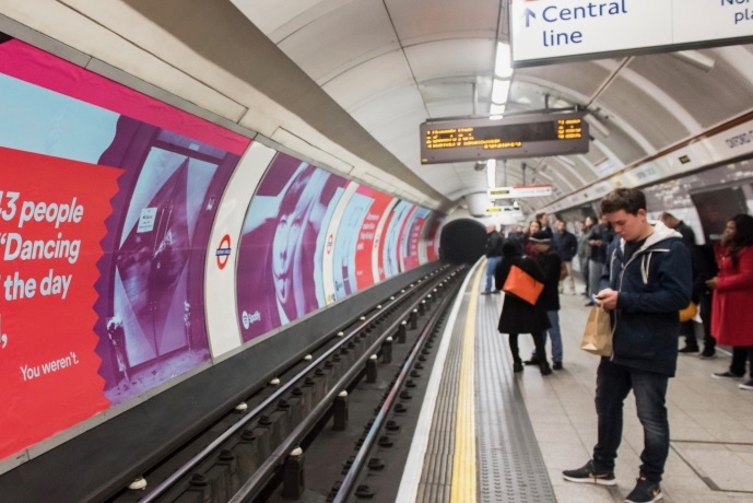 Exterion Media: sells ads on the Tube