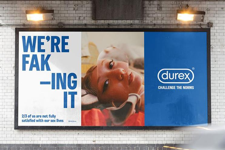 Durex: believes sex should be satisfying for women too