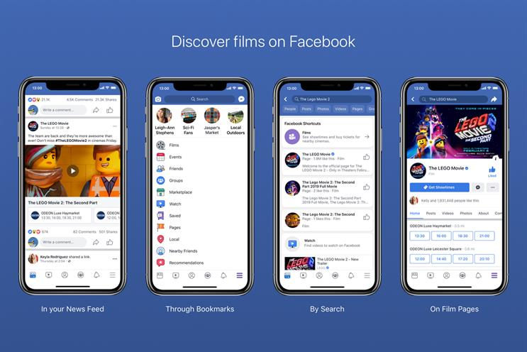 Odeon agrees Facebook direct sales deal