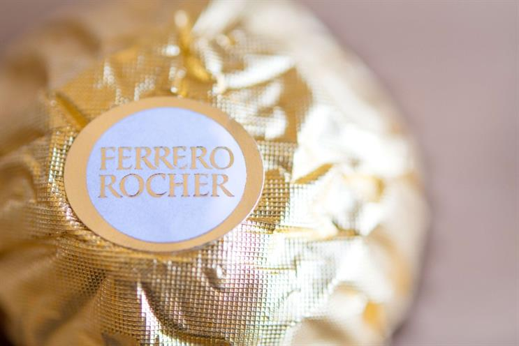 Ferrero: handed UK media account to Starcom