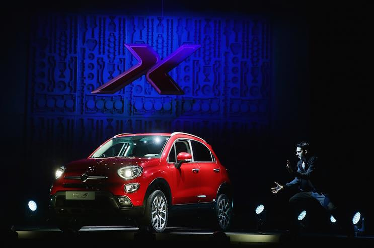 Last year Fiat teamed up with magician Dynamo for the launch of its Fiat 500X