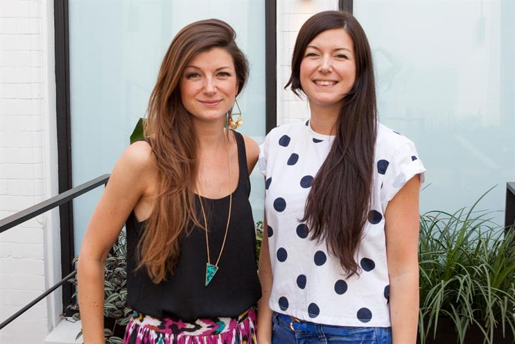 Fiona and Sophie Clark: have worked for BBDP, Ogilvy & Mather and Wunderman