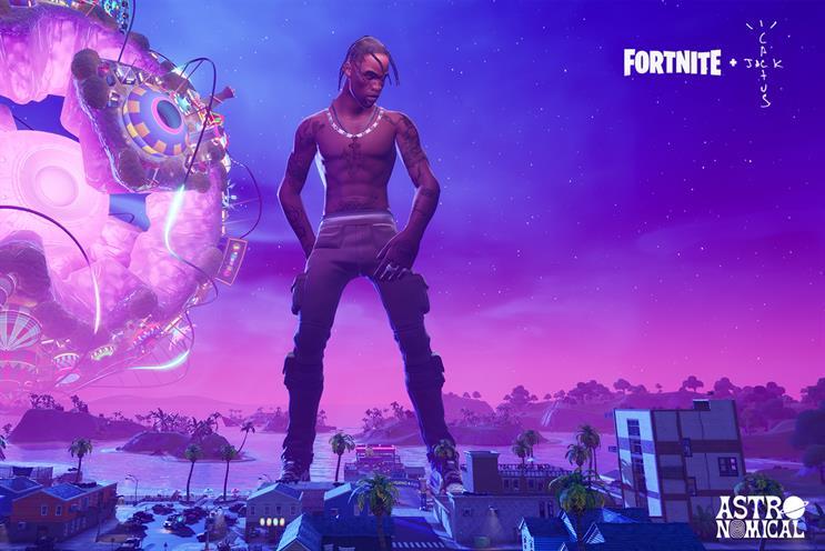 Fortnite: Scott performed concert within game