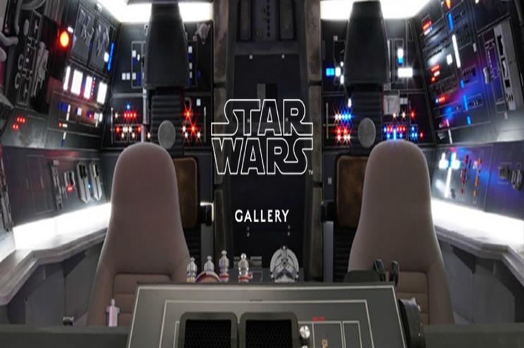 Harrods and Disney launch Star Wars Gallery