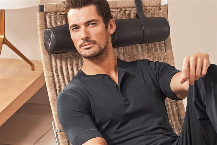 M&S clothing sales falter despite celebrity models such as David Gandy