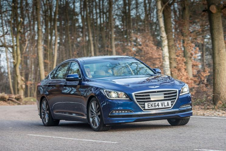 The pitch is reportedly for Hyundai's Genesis sub-brand