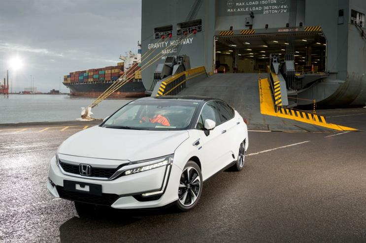 Honda's Clarity Fuel Cell vehicle will be on show at the Geneva Motor Show 2017
