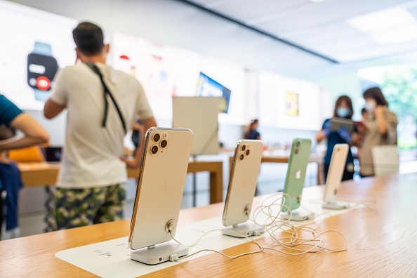 Apple: influx of TV advertising expected with launch of new iPhones (Picture: Getty)