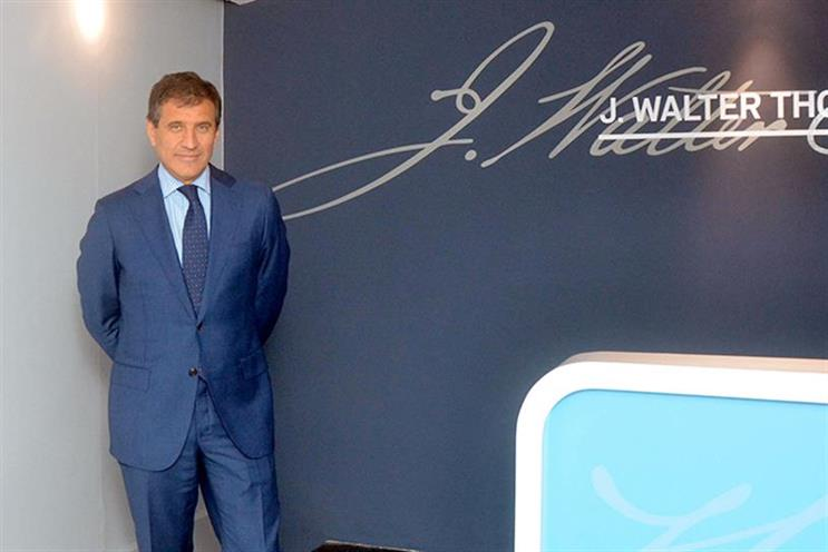 Gustavo Martinez: resigned as JWT's global CEO in March