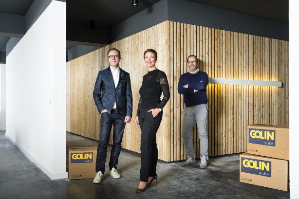 Partnership: (L-R) Matt Neale, Uta Behnke, Benedikt Holtappels