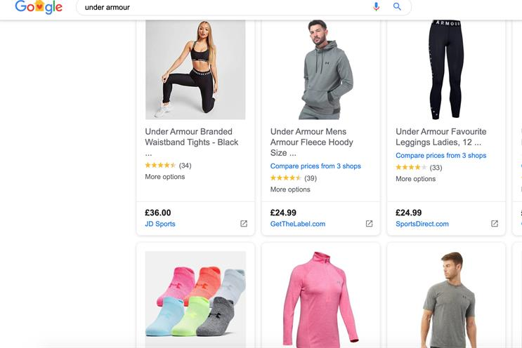 Amazon And Ebay Stand To Gain From Free Google Shopping Ads