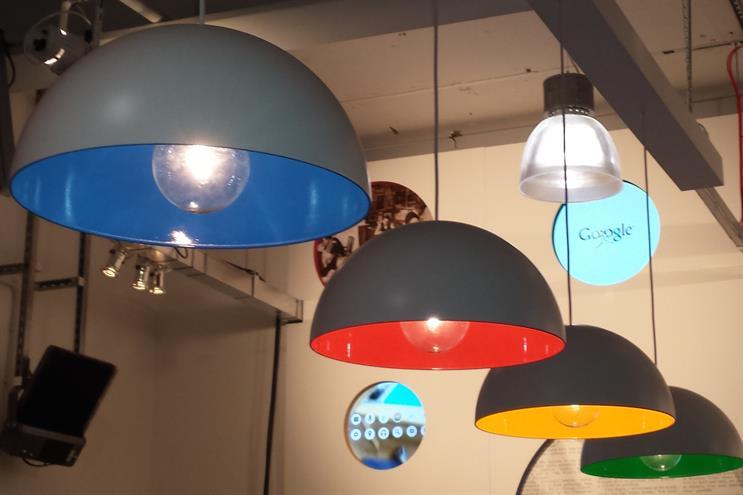 The Google Lounge at Advertising Week Europe 2014
