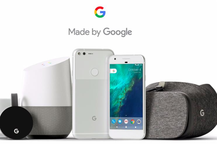 Google: New York pop-up store