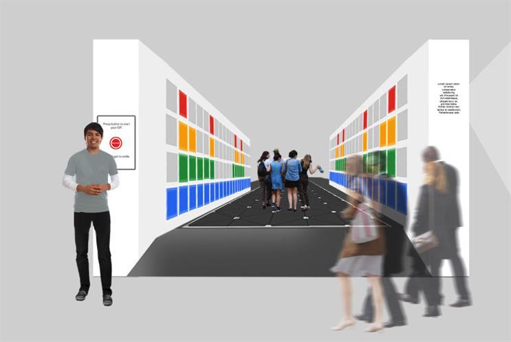 Google creates lightshow using footsteps at Berlin Festival of Lights