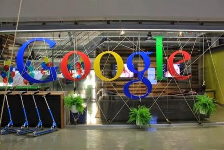 Google:  the brand that young people most want to 'hang out with', said McCann's research