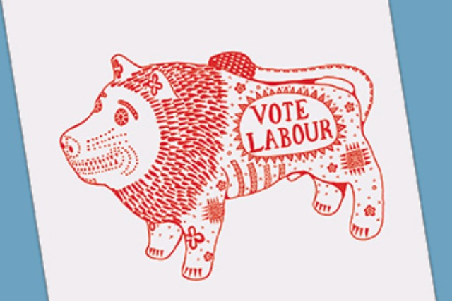 Grayson Perry: designed a limited edition bag for Labour supporters
