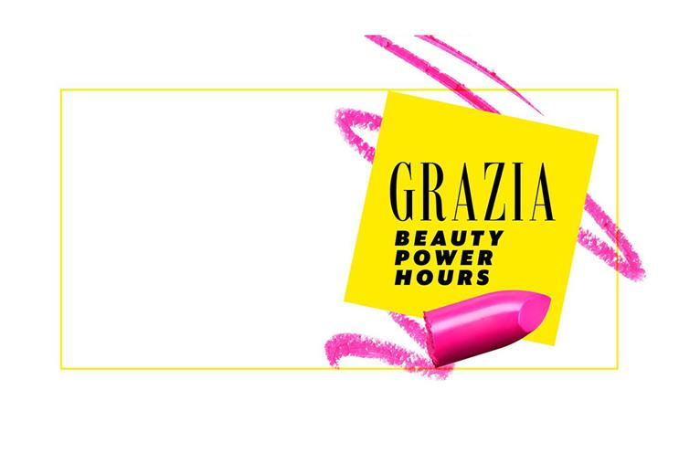 Grazia: celebrities and social media influencers will share beauty tips