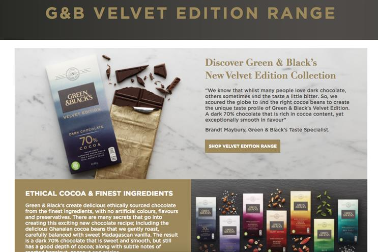Green & Black's launches first non-Fairtrade chocolate bar