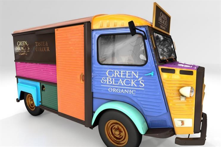 Green & Black's Organic will launch the activation at Portobello Road market