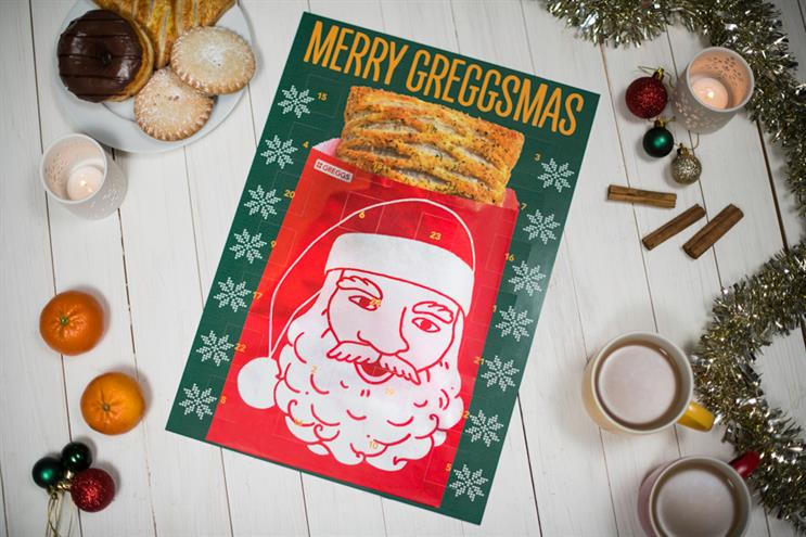 Greggs: Christmas effort