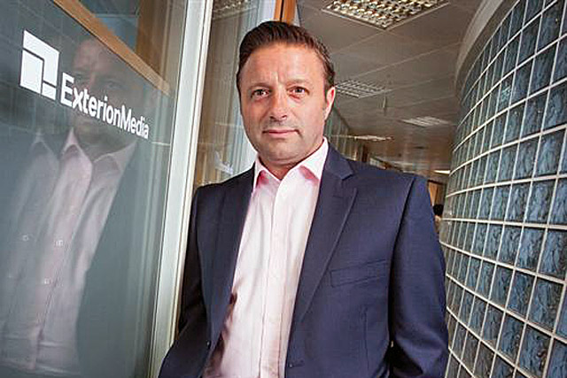 Shaun Gregory: chief executive of Exterion Media
