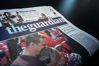 Guardian poised for Trinity Mirror print deal for new tabloid format