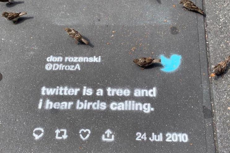 Twitter: apologised for recent guerrilla marketing campaign
