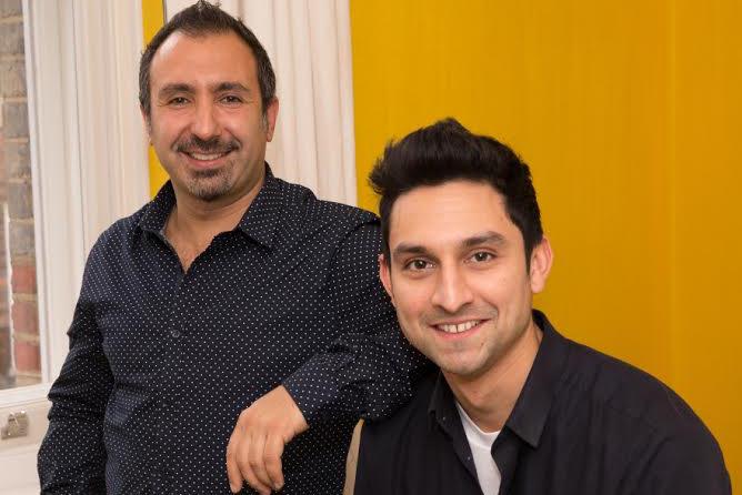 Habib (left) and Shah