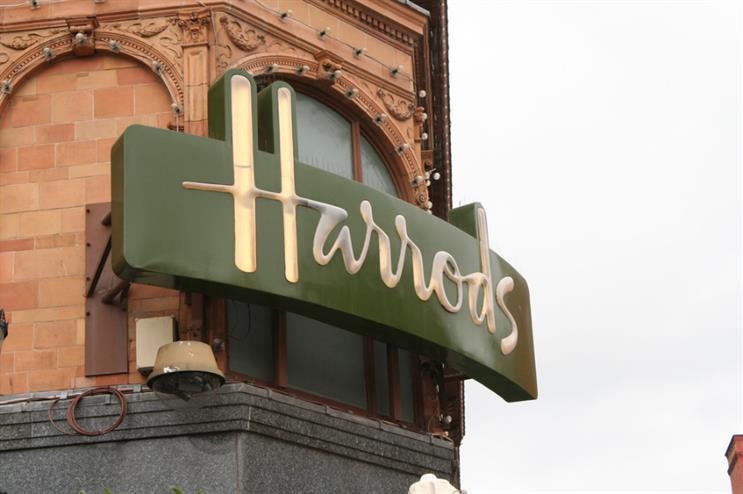 The pop-up will be located at Harrods in Knightsbridge (Creative Commons: Mario Sánchez Prada)