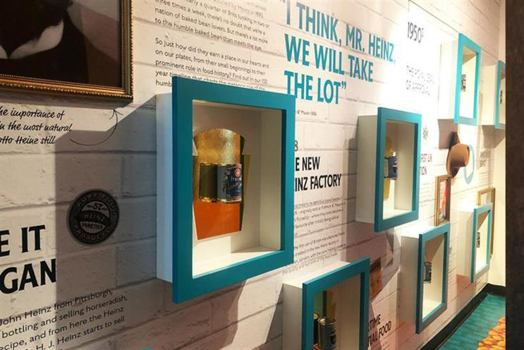 Heinz: pop-up museum celebrated brand's heritage